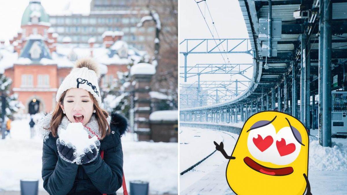 北海道冬日下雪絕美行程 不用開車也能自由行!