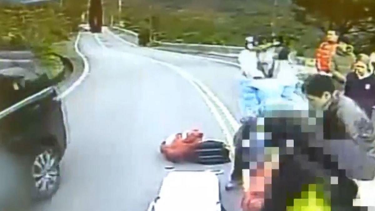 五指山奪命車禍 機車撞法拉利騎士身亡