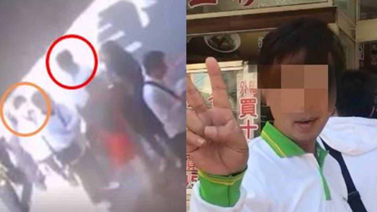 【影片】臉皮厚!房仲男插隊被拍還比YA…肉圓店監視器畫面直打臉!