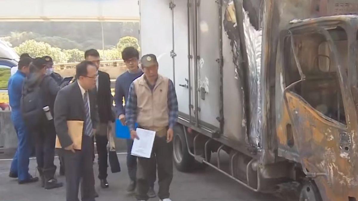 國道六車悲撞3死 冷凍貨車追撞釀禍