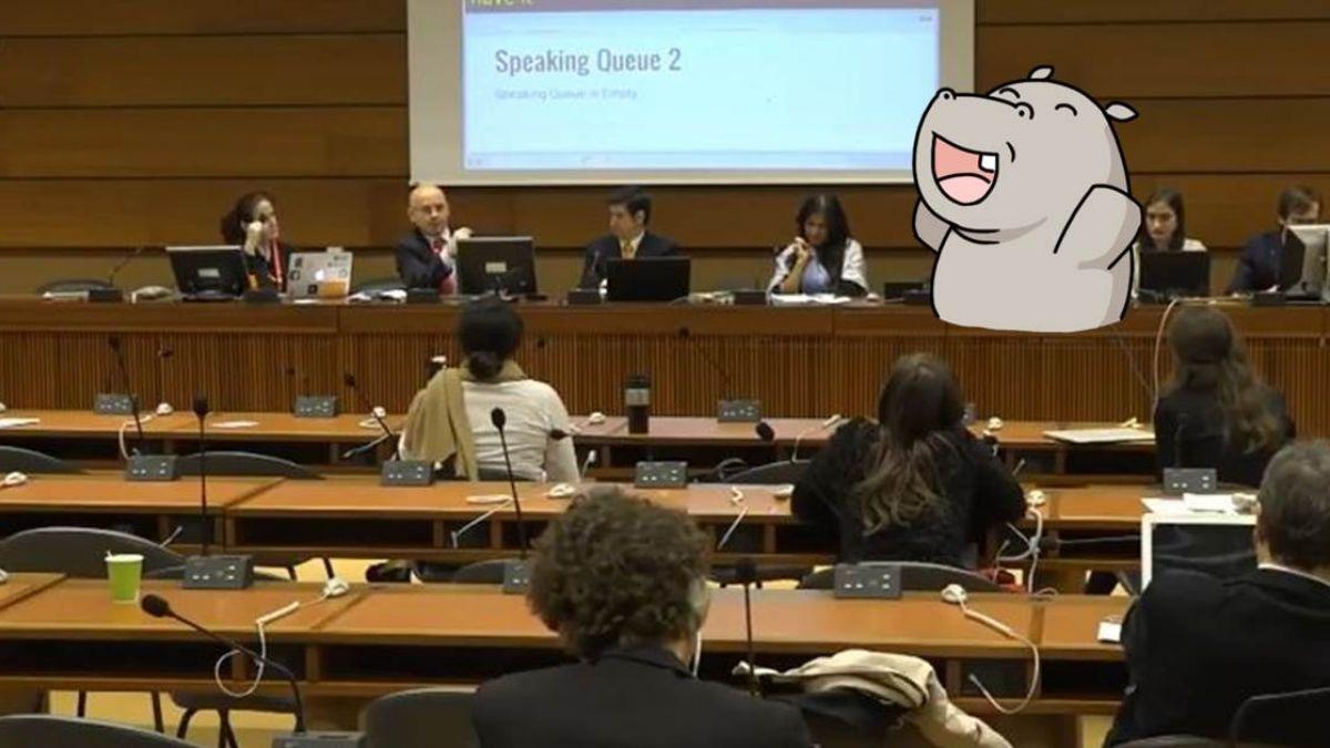 奇襲!唐鳳用這招在聯合國會議發言 陸方代表崩潰氣炸