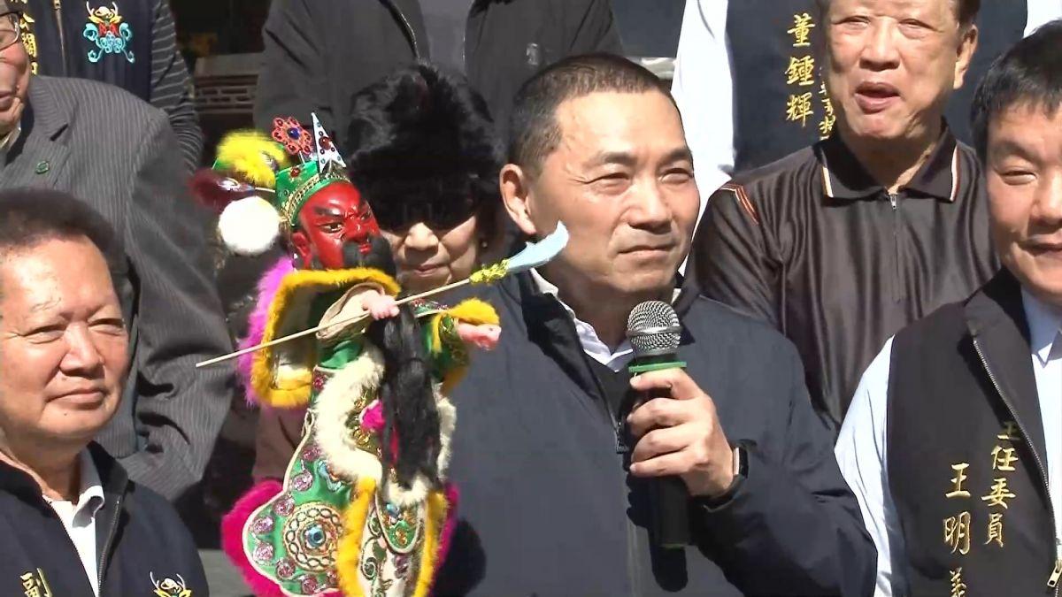 同在台南跑行程 侯友宜提醒賴揆勞團在台北