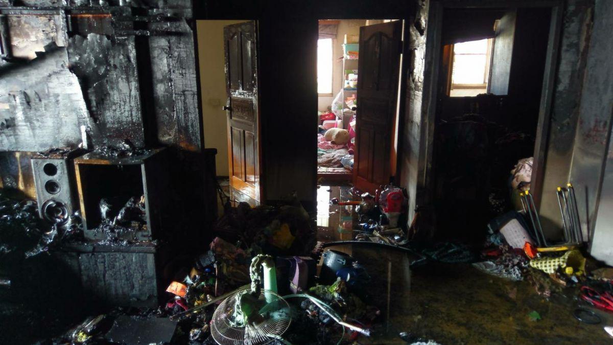 9樓住家陷火海逃不了 屋主一個動作救一家5口