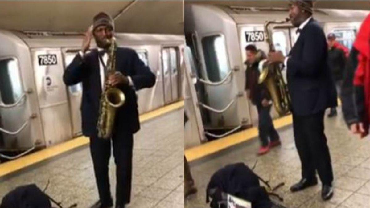 紐約地鐵飄台灣國歌!網友感動錄影:把愛傳出去