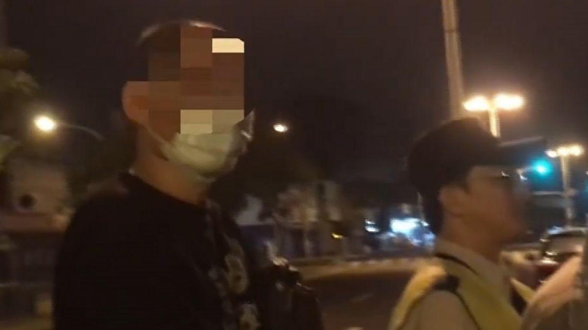 男子駕車戴口罩疑躲酒測 難敵警偵測棒
