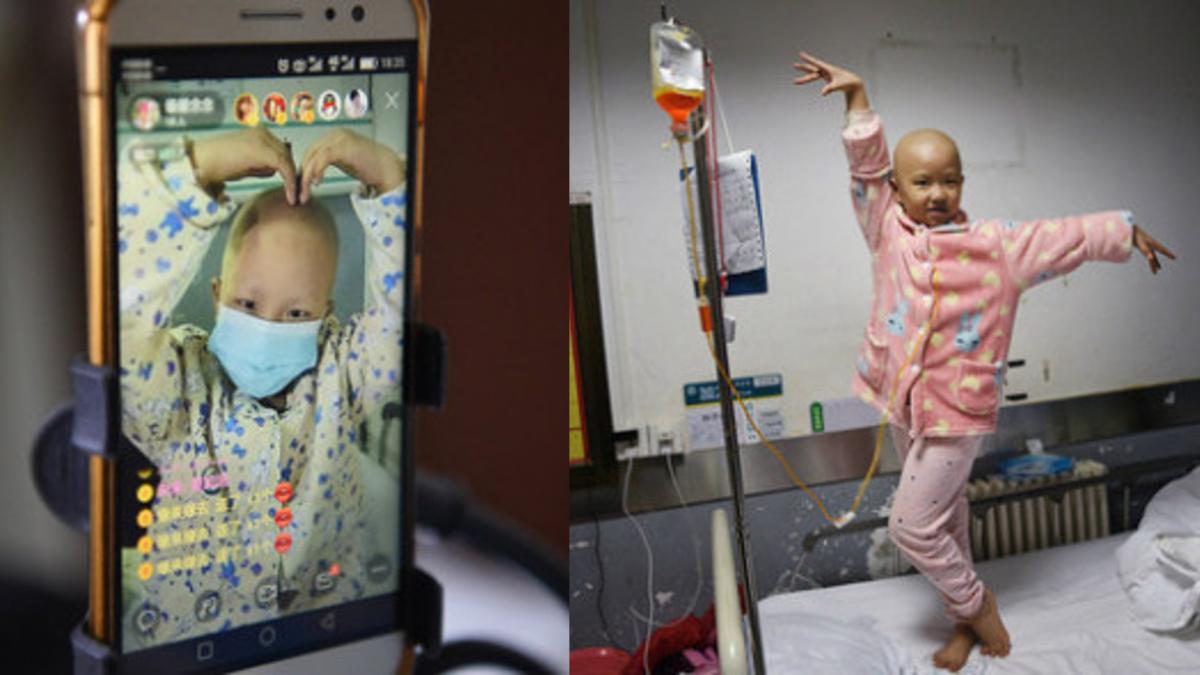 怕爸媽太辛苦…6歲癌童開直播唱歌 努力籌醫藥費自救