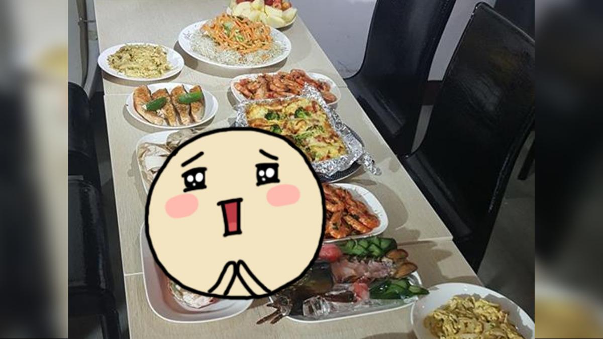 最狂員工餐!12道菜龍蝦、牛排擺滿桌 網友瘋狂搶應徵