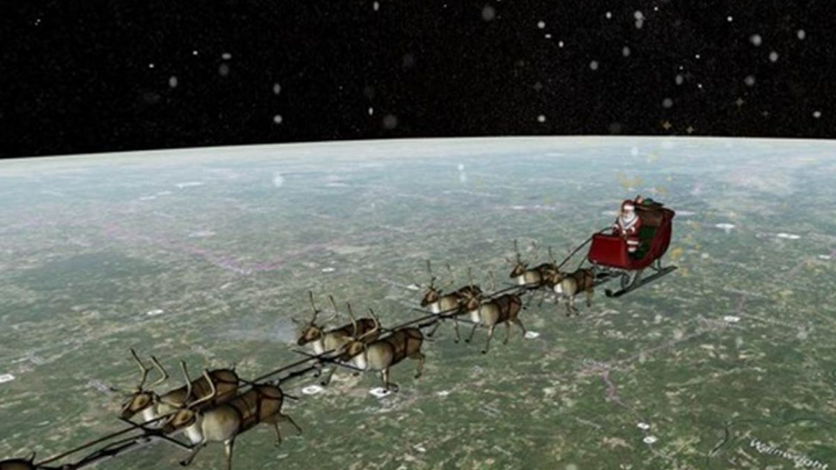 聖誕老人任務達成!北美防空司令部統計:今年送出72億份禮物