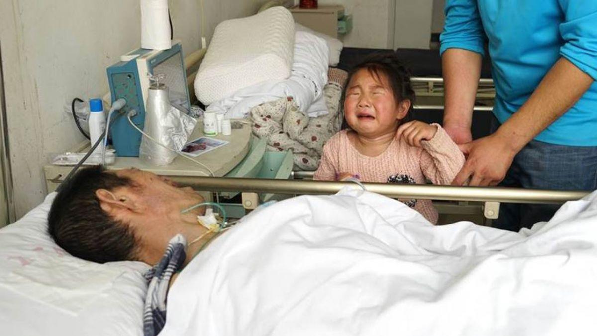 祖孫三代重病!植物人爺爺醒來 心痛絕食:先救孫女