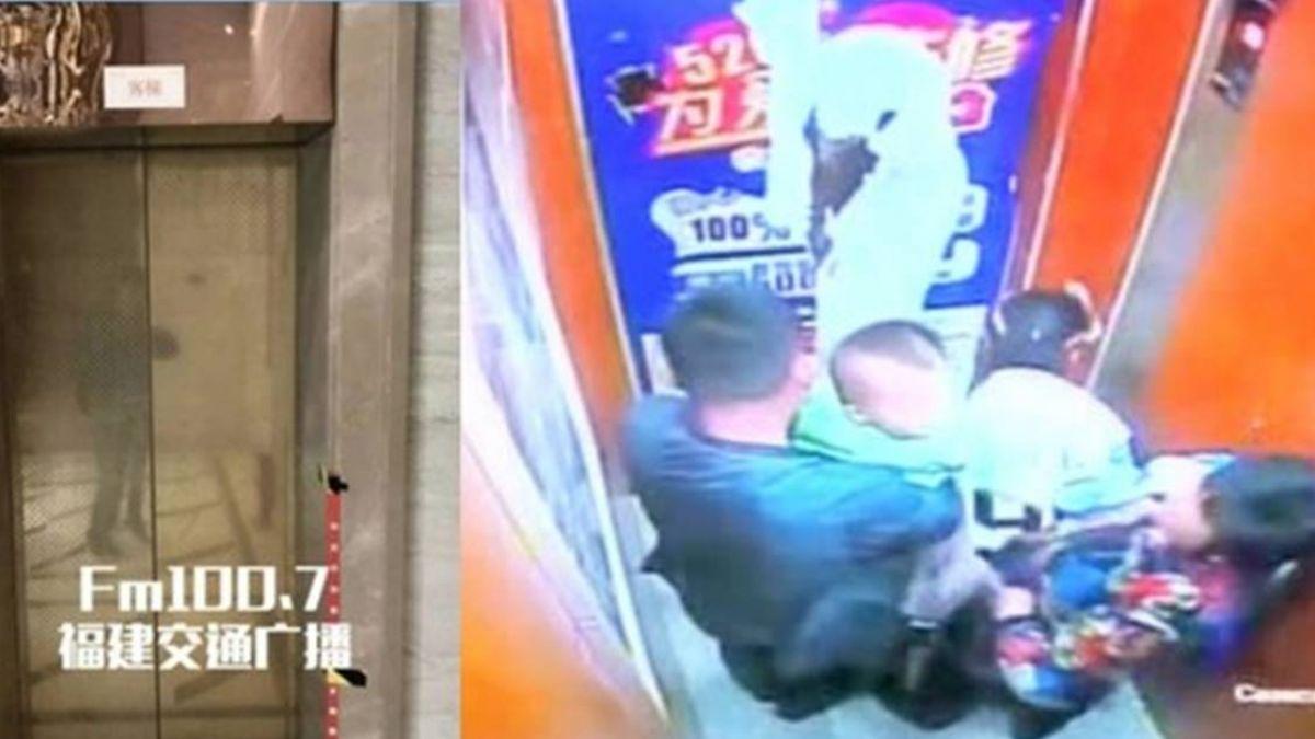2歲童電梯裡小便…母挨網轟叫屈:是有苦衷的