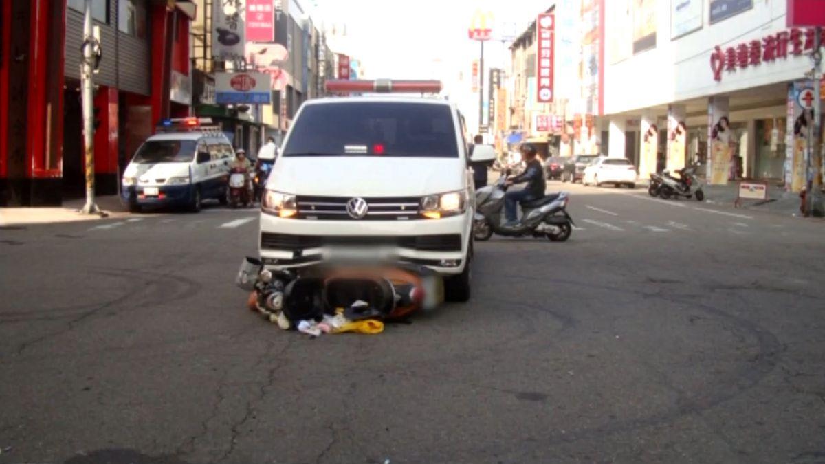 救護車鳴笛過紅燈 婦人遭撞飛四公尺命危