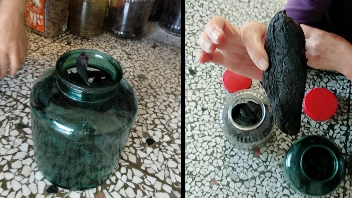 古厝挖出2罐烏黑食物…隨便都放20年以上!網狂讚:是極品