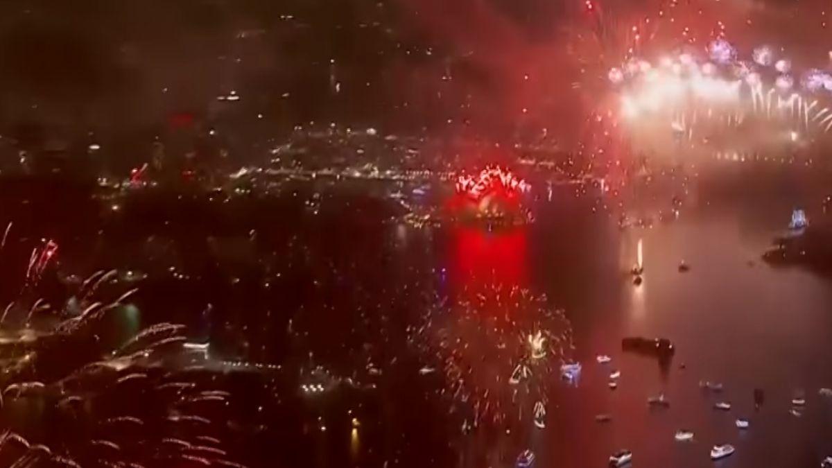 全球瘋跨年 各大城市燦爛煙火輪番上陣