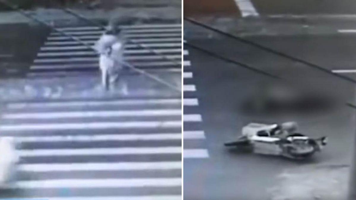 【影片】男遭撞飛倒地掙扎!竟又遭2車狠輾…屍塊噴飛慘死成肉泥