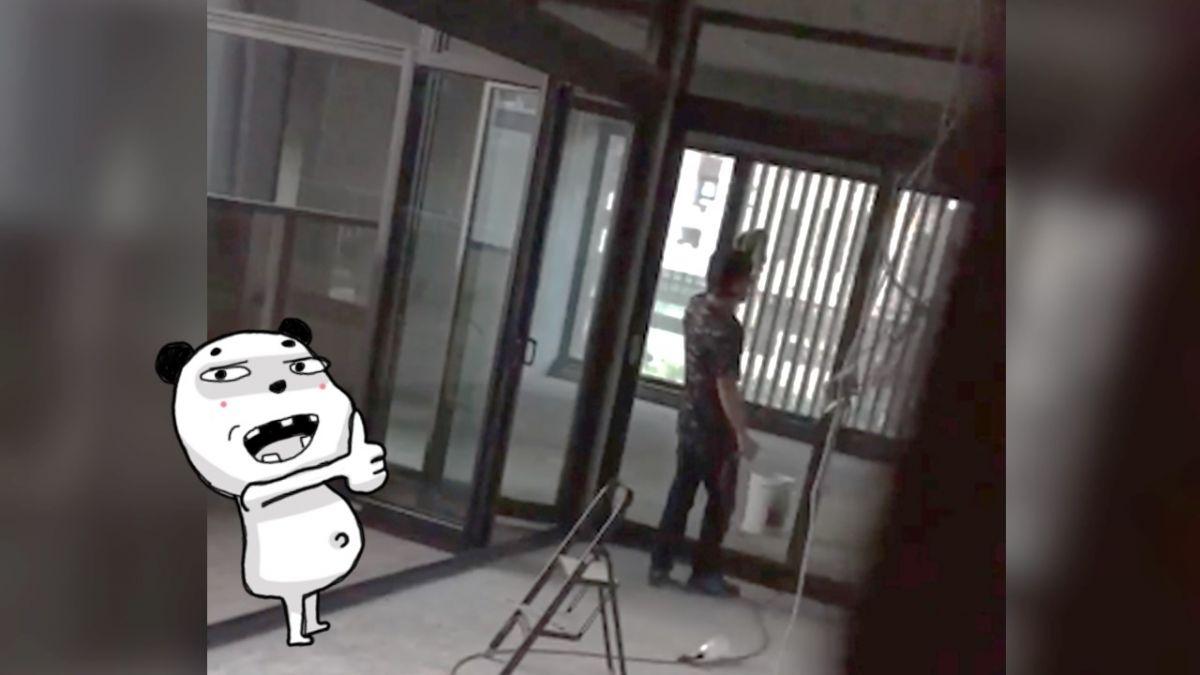 【影片】萬人驚呆!工人輕鬆飆唱「沒離開過」 網驚呼:媲美原唱