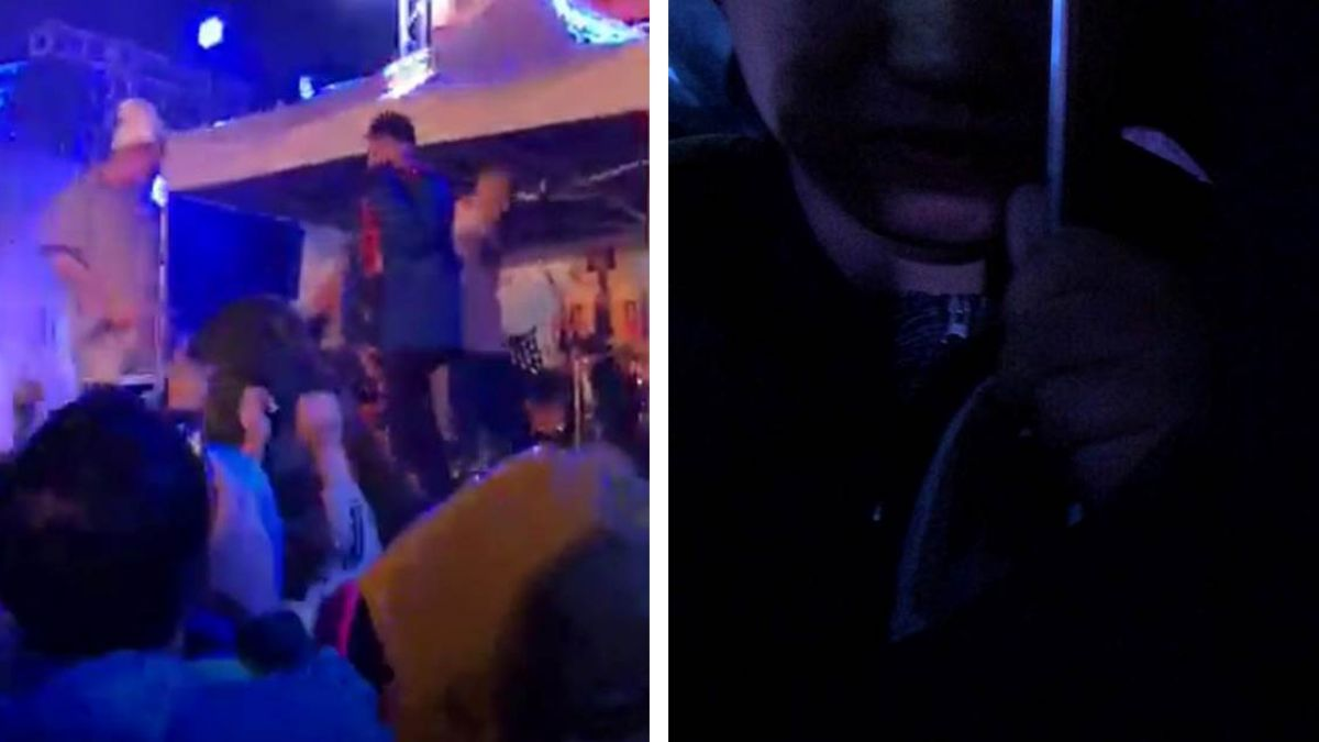 看演唱會突一陣濕熱 噁男竟尿她腳上!女伴嗆:有啥關係