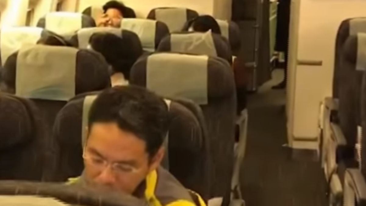 引擎故障! 立榮班機延飛16小時 旅客:如難民