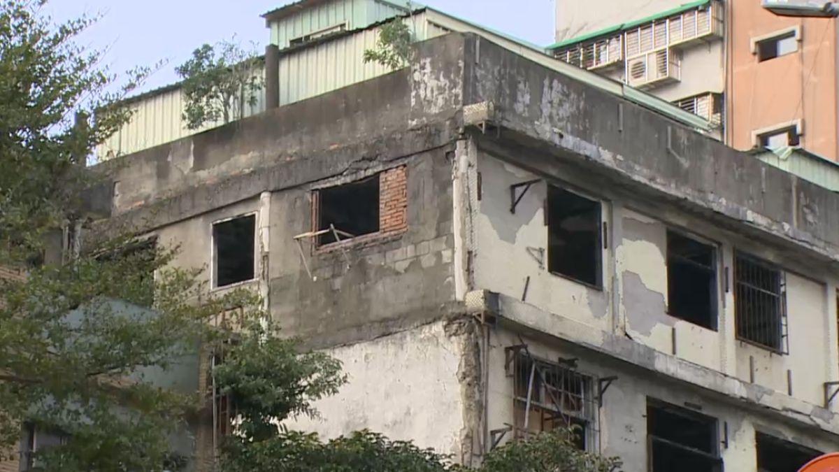 火燒未整修「裸租」 屋主開價5層樓月租55萬