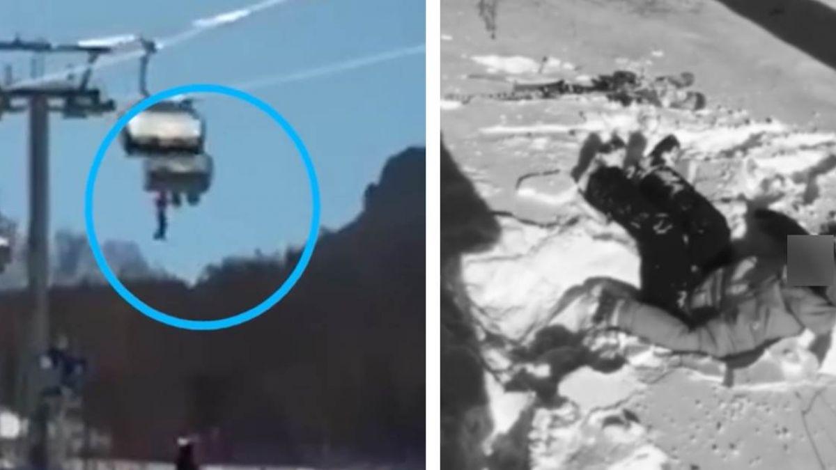驚悚直擊!7歲童搭高空纜車墜地 業者批:爸媽沒照顧好
