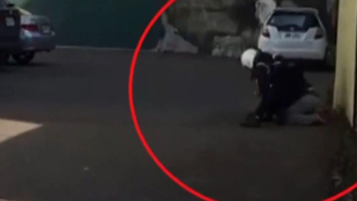 插翅難飛!警呼支援 九警團團包圍嫌犯