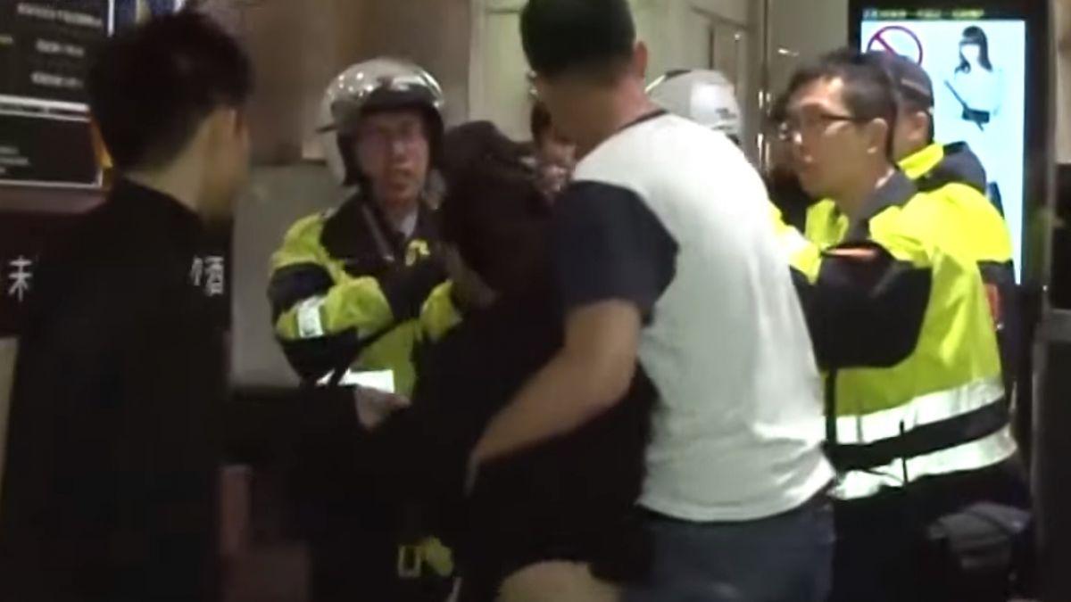 孕婦KTV勸架反遭打 見警怒咆哮:就她打我