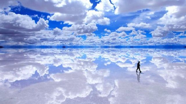 神美!這沒P圖你敢信?一生必訪一次「天空之鏡」