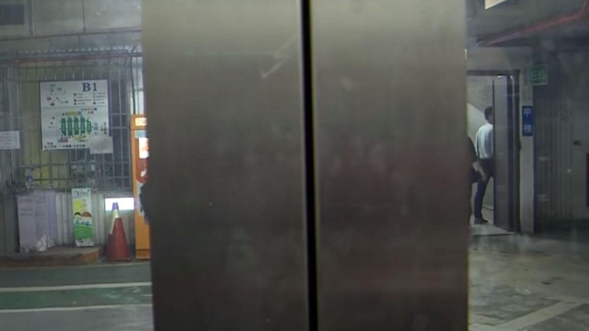 一家七口困停車場電梯 嬤嚇到氣喘發作