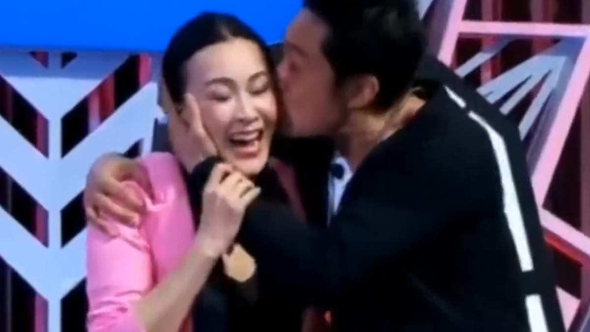 好尷尬! 馬景濤強吻劉嘉玲 失控被譙爆