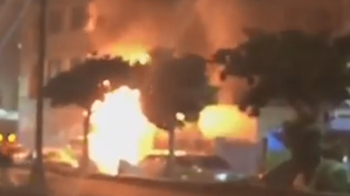 便當店「12瓦斯桶」氣爆16傷 受傷3員工無勞保