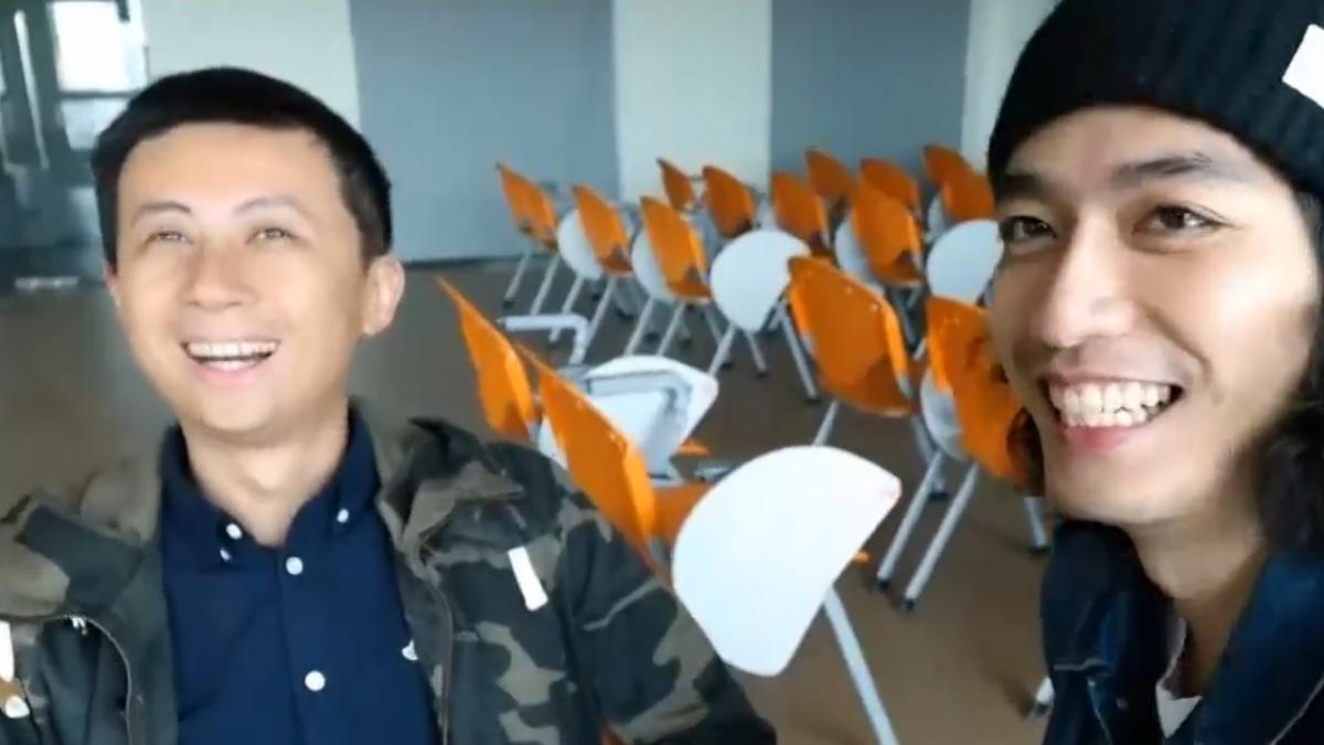 KUSO影片仿作商標 空中英語控呱吉侵權