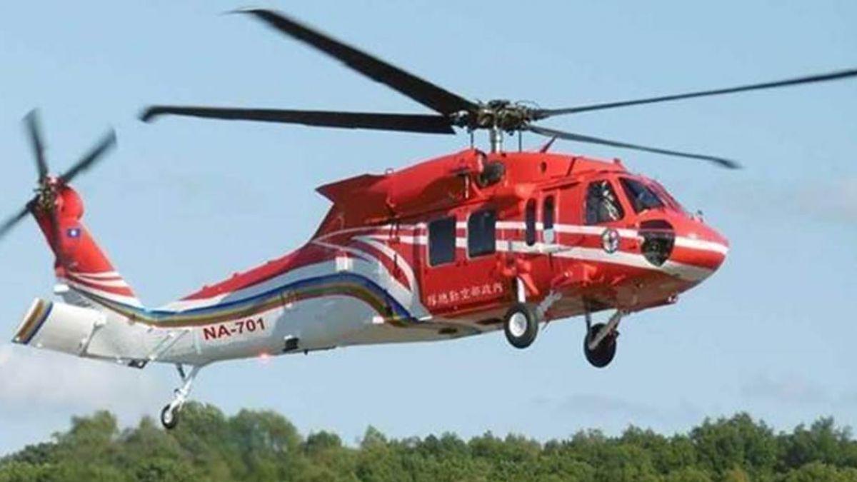 蘭嶼起飛後3分鐘雷達上消失…6人失蹤!黑鷹直升機最後身影曝光