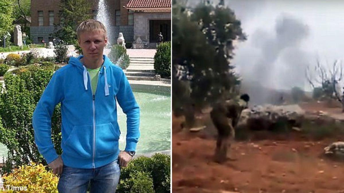 【影片】不願被俘虜!飛行員遭擊落…引爆手榴彈自盡