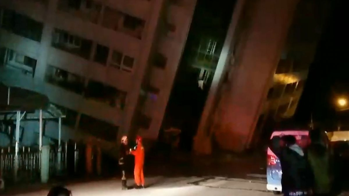 天搖地動!花蓮6.0地震後 氣象局:不排除發生更大地震