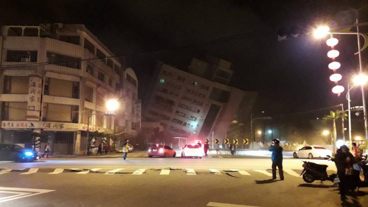 恐怖巧合同一天!2年前0206美濃大地震 維冠樓倒塌奪115命