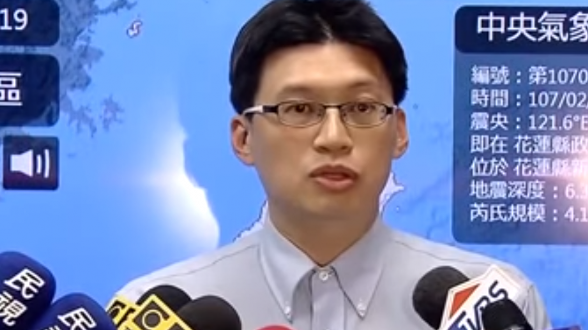 花蓮連環震 氣象局:未來兩三周繼續震