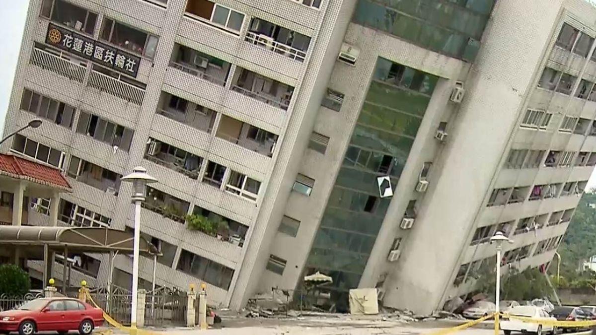 【不斷更新】23:21再震!規模5.7 救難人員急逃生