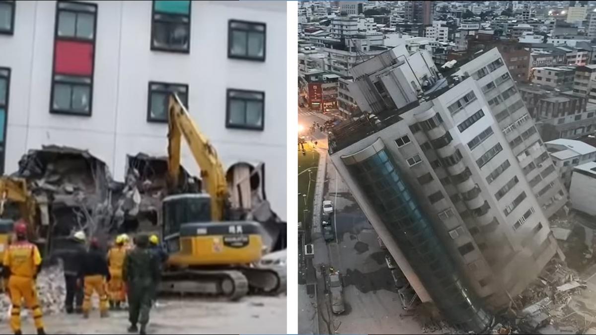 整棟沉到4樓半!雲翠大樓主委:最憂心這2層樓