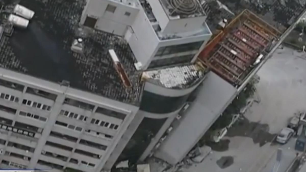 雲門翠堤傾斜「4樓變1樓」 4死225傷145失聯