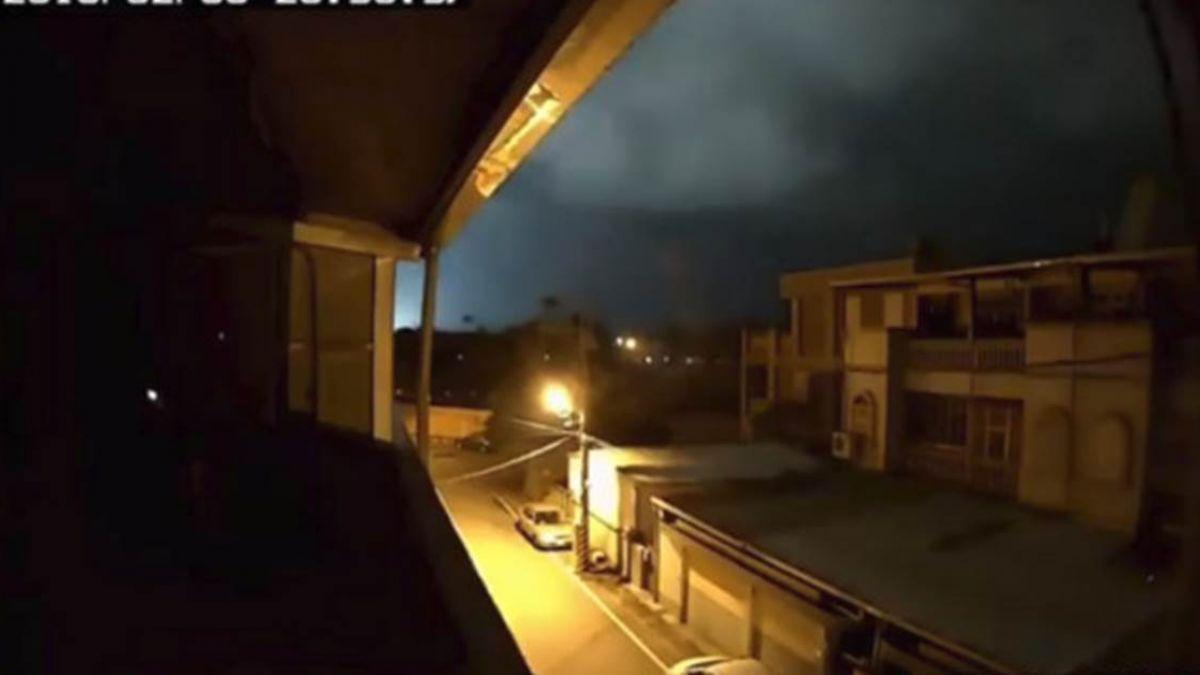 【影片】花蓮出現「地光」?強震當下瞬閃如白天 36秒畫面曝光!