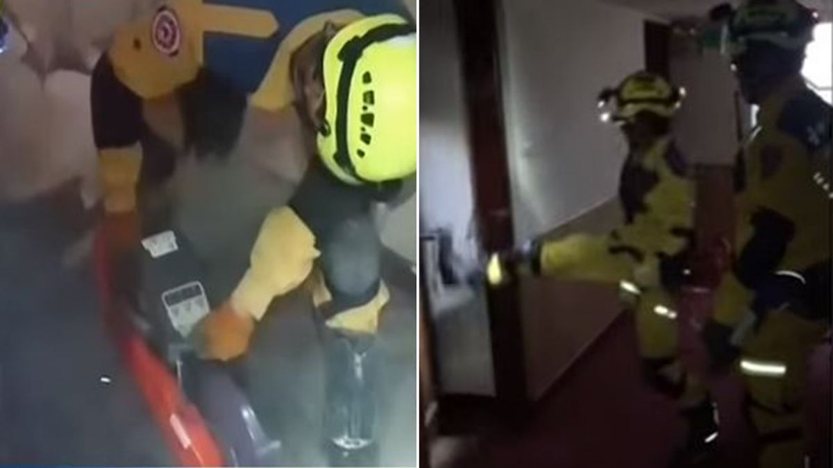 「我們來救你了!」搜救人員超暖對話曝光 鑽地破門覓生機
