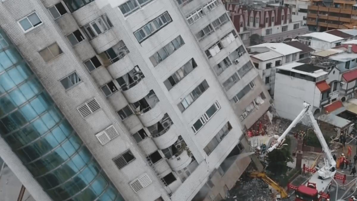 花蓮雲翠強震後成重災區 日耐震權威指出:設計有明顯瑕疵