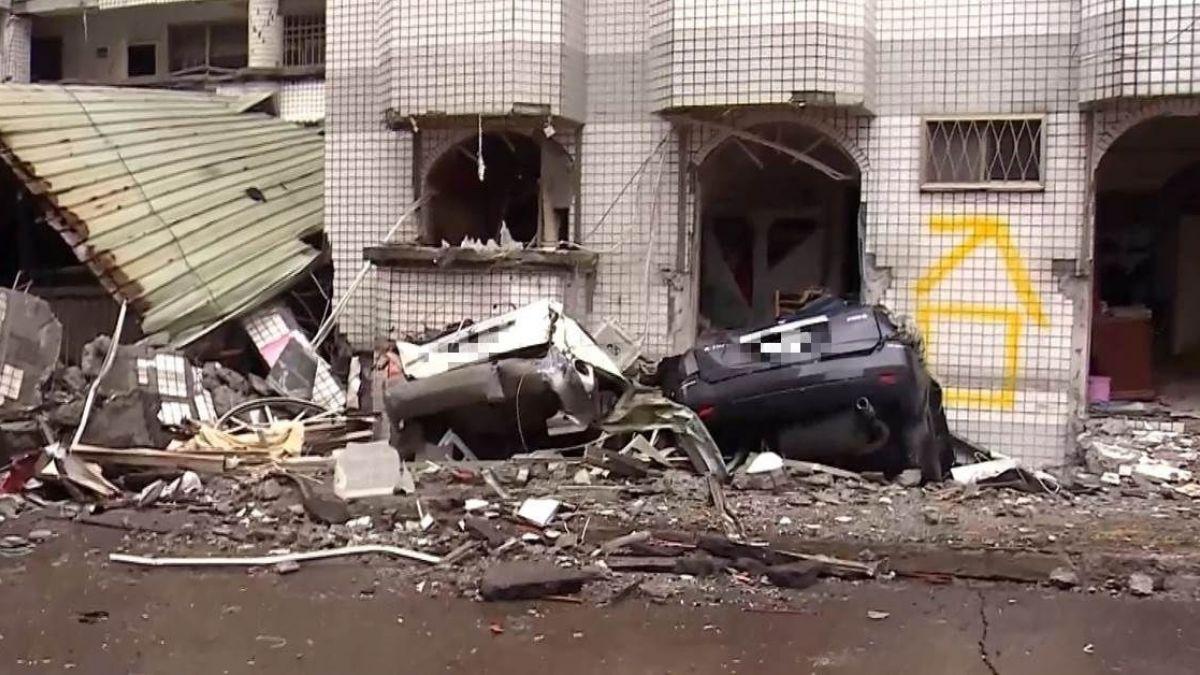 「辛苦一輩子存的錢泡湯了」 8個月前花350萬買房…強震後2樓變1樓