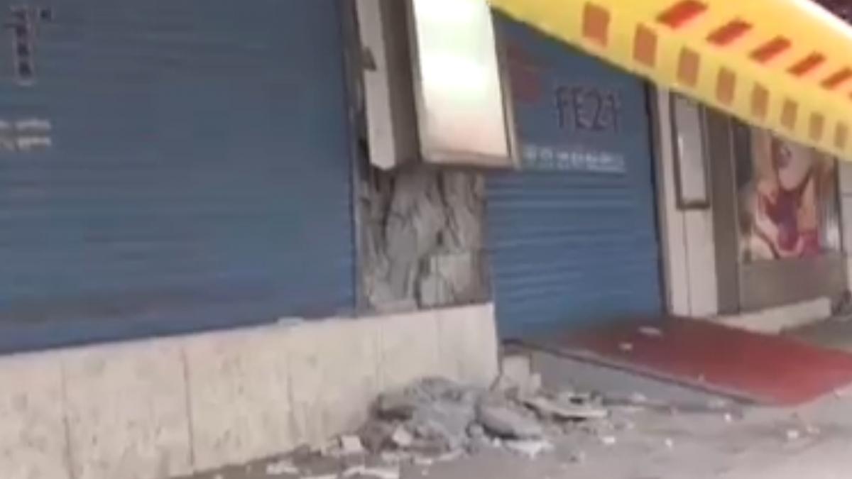 舊遠百「軟腳爆柱」遭認定危樓 居民:很怕垮下來