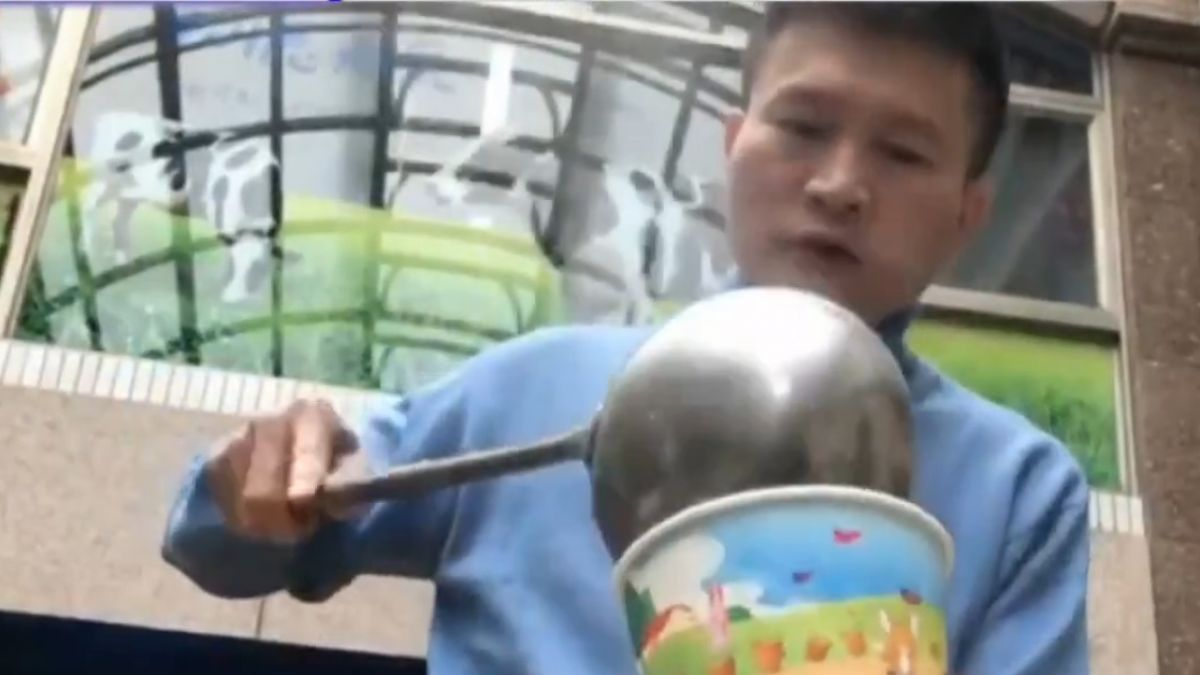 衝花蓮災區開熱食站 秦楊:待到救難結束