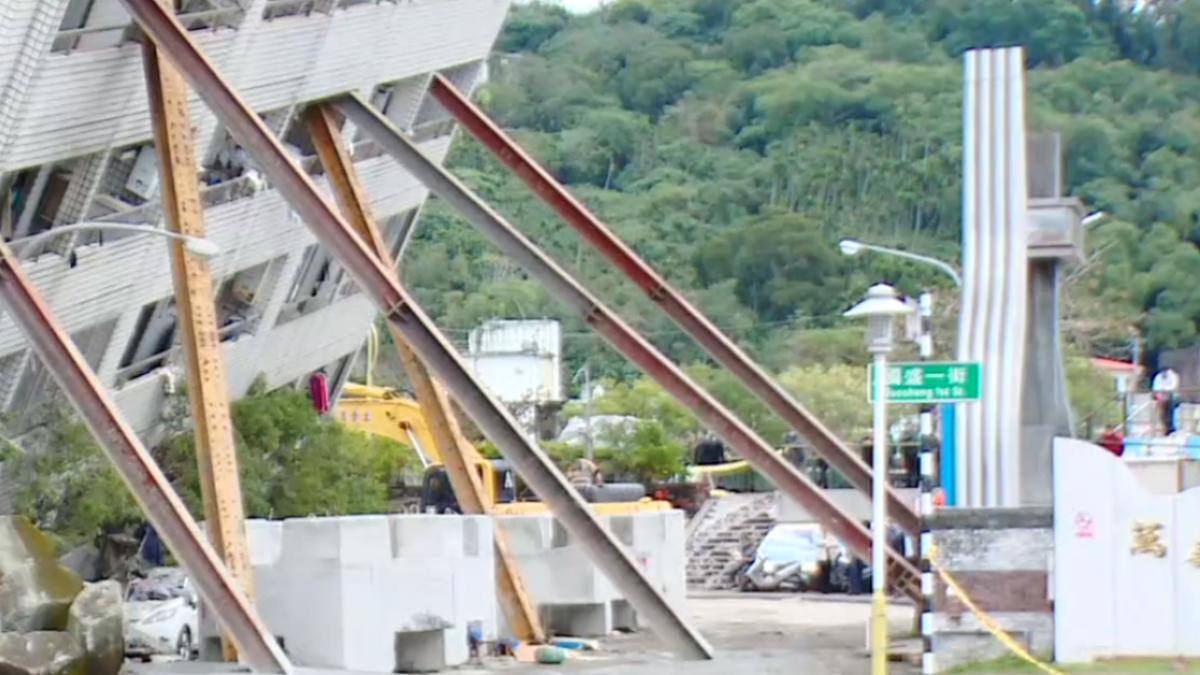 米崙斷層活動偏北 倒塌樓疑與結構有關