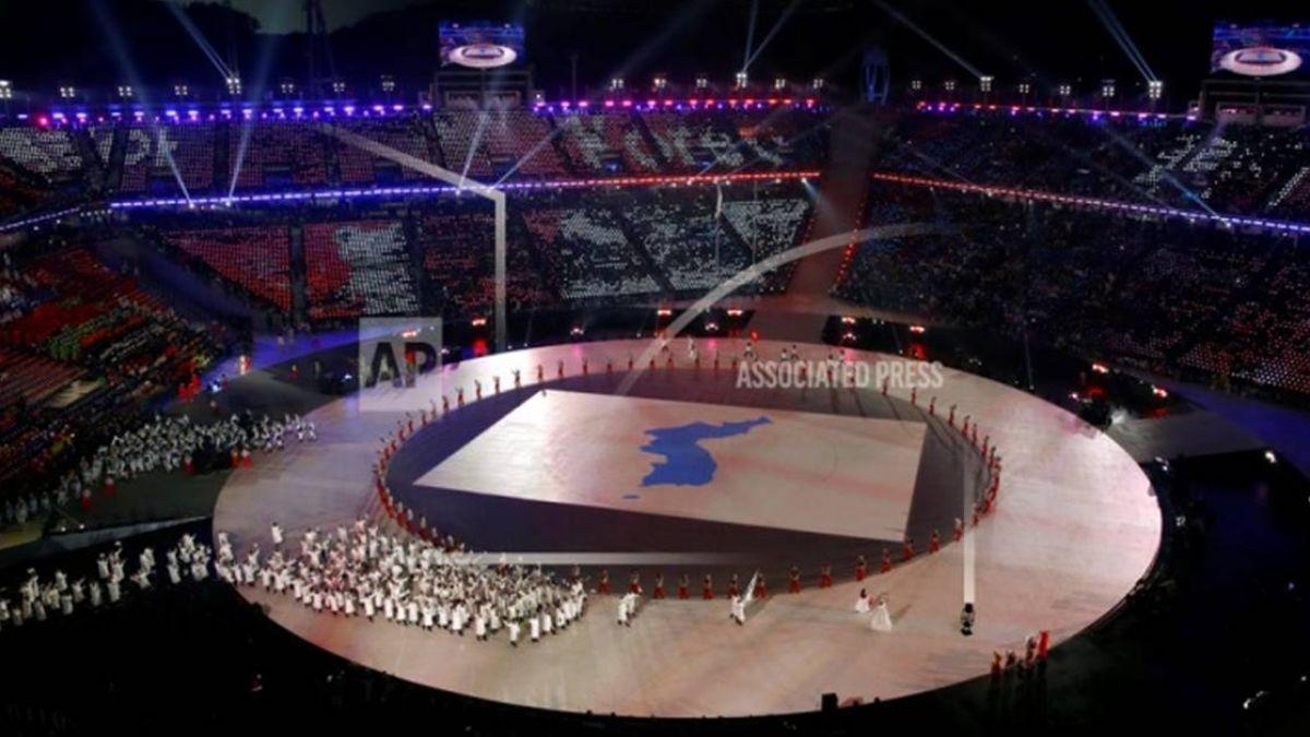 史上最冷冬奧!南北韓運動員同進場…民眾場外示威抗議