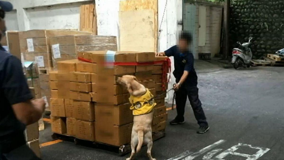 台印警合作 逮台人運毒查獲1公噸安毒