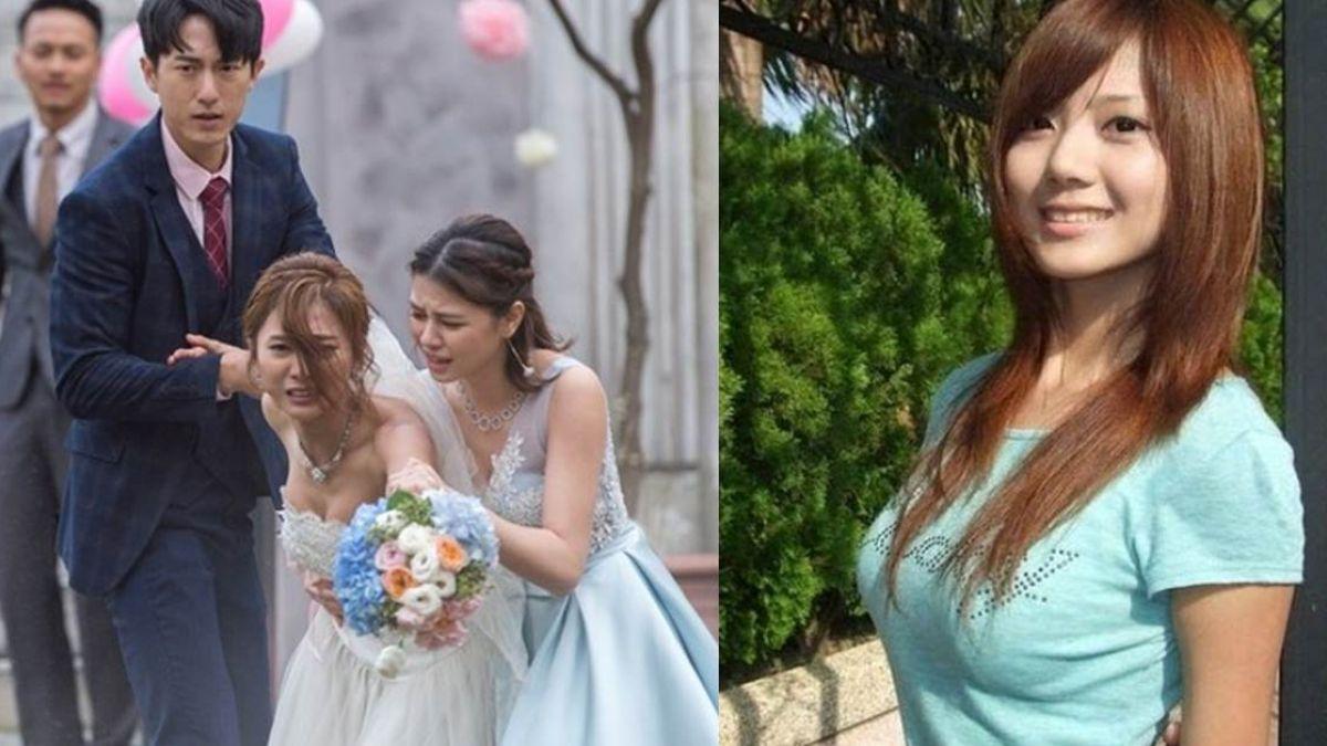 巨乳露出來了!豆花妹婚紗被猛扯 喊卡:真尷尬