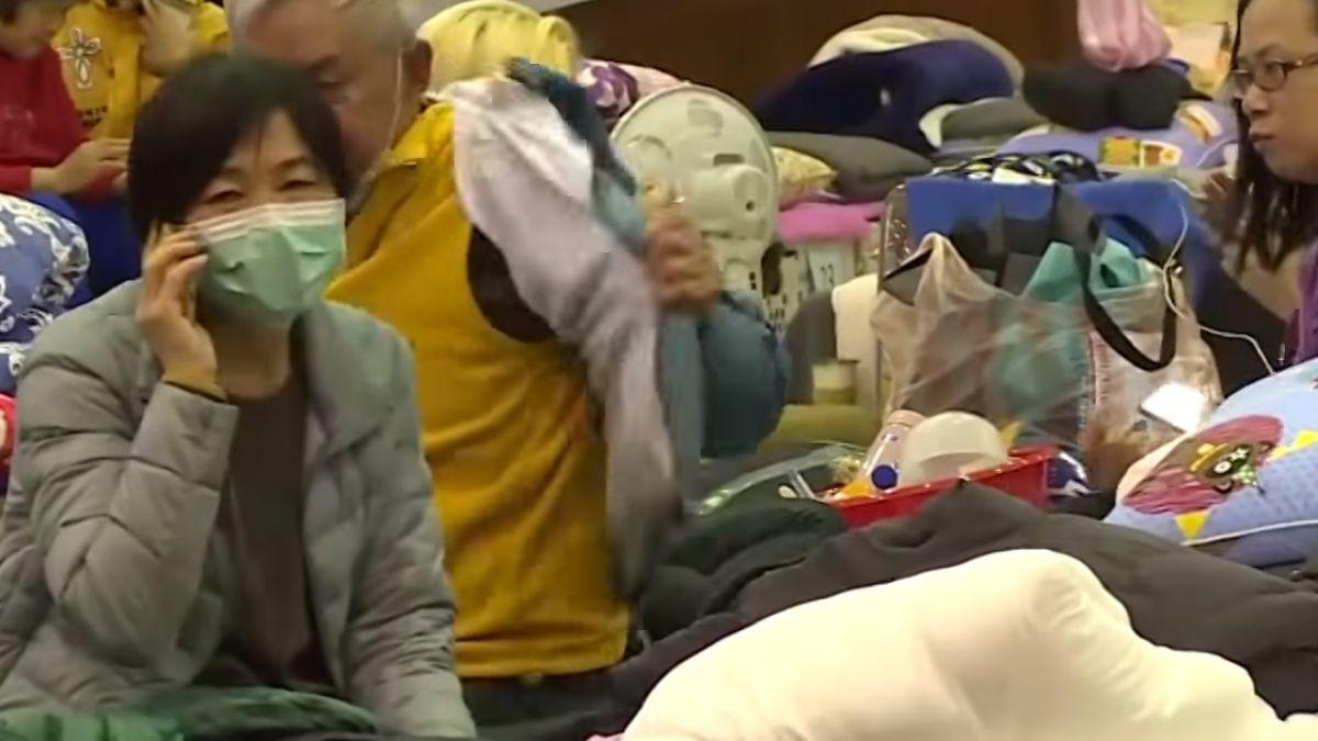5百受災戶無家可歸 安置在旅館民宿過新年
