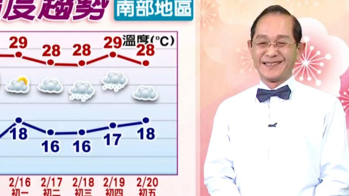 【2018/02/14】寒流下雪影響 紅粉佳人盛開花期晚一周